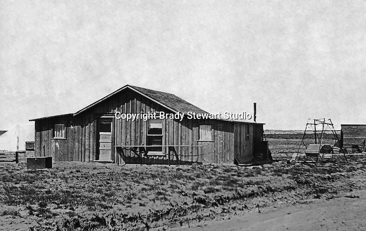 Jerome ID: Brady Stewart's next door neighbor - 1910.   Brady Stewart and three friends went to Idaho on a lark from 1909 thru early 1912. As part of the Mondell Homestead Act, they received a land grant of 160 acres north of the Snake River.  For 2 ½  years, Brady Stewart photographed the adventures of farming along with the spectacular landscapes.