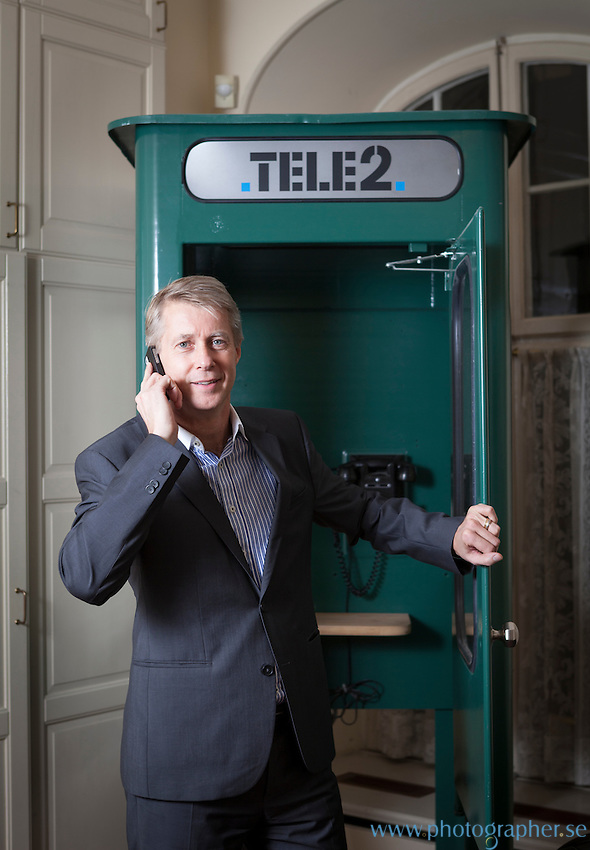 Mats Granryd, President and CEO Tele2 Group, HQ in Stockholm Sweden