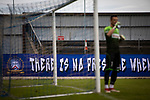 The visitors goalkeeper takes a drinks break during the first-half as Coleraine played Spartak Subotica of Serbia in a Europa League Qualifying First Round second leg at the Showgrounds, Coleraine. The hosts from Northern Ireland had drawn the away leg 1-1 the previous week, however, the visitors won the return leg 2-0 to progress to face Sparta Prague in the next round, watched by a sell-out crowd of 1700.