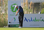 Phillip Price (WAL) tees off on the 7th tee during Day 1 Thursday of the Open de Andalucia de Golf at Parador Golf Club Malaga 24th March 2011. (Photo Eoin Clarke/Golffile 2011)