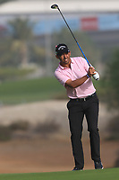 Pablo Larrazabal (ESP) on the 3rd fairway during Round 2 of the Omega Dubai Desert Classic, Emirates Golf Club, Dubai,  United Arab Emirates. 25/01/2019<br /> Picture: Golffile | Thos Caffrey<br /> <br /> <br /> All photo usage must carry mandatory copyright credit (© Golffile | Thos Caffrey)