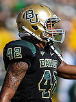 Baylor Bears wide receiver Levi Norwood (42) in action during the game between the Southern Methodist Mustangs and the Baylor Bears at the Floyd Casey Stadium in Waco, Texas. Baylor defeats SMU 59 to 24.