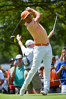 Rickie Fowler (USA) watches his tee shot on 4 during Rd4 of the 2019 BMW Championship, Medinah Golf Club, Chicago, Illinois, USA. 8/18/2019.<br /> Picture Ken Murray / Golffile.ie<br /> <br /> All photo usage must carry mandatory copyright credit (© Golffile | Ken Murray)