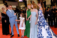 "CANNES, FRANCE. May 17, 2019: Keleigh Sperry, Miles Teller,  Nicolas Winding Refn, Liv Corfiven, Lola Winding Refn & Taylor Hill at the gala premiere for ""Too Old to Die Young – North of Hollywood, West of Hell"" at the Festival de Cannes.<br /> Picture: Paul Smith / Featureflash"