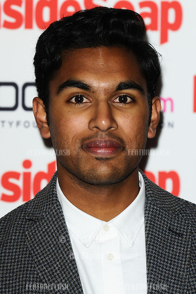 Himesh Patel arriving for the 2012 Inside Soap Awards, at No.1 Marylebone, London. 24/09/2012 Picture by: Steve Vas / Featureflash
