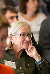 ZANDVOORT - GOLF -Demie Moore, Wageningen University. DTRF (Dutch Turfgrass Research Foundation)  congres. COPYRIGHT KOEN SUYK