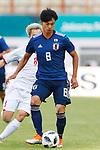 Kaoru Mitoma (JPN), <br /> AUGUST 19, 2018 - Football / Soccer : <br /> Men's Group D match <br /> between Japan 0-1 Vietnam <br /> at Wibawa Mukti Stadium <br /> during the 2018 Jakarta Palembang Asian Games <br /> in Cikarang, Indonesia. <br /> (Photo by Naoki Morita/AFLO SPORT)