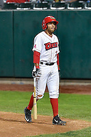 Jose Rojas (2) of the Orem Owlz during the game against the Billings Mustangs in Game 2 of the Pioneer League Championship at Home of the Owlz on September 16, 2016 in Orem, Utah. Orem defeated Billings 3-2 and are the 2016 Pioneer League Champions. (Stephen Smith/Four Seam Images)