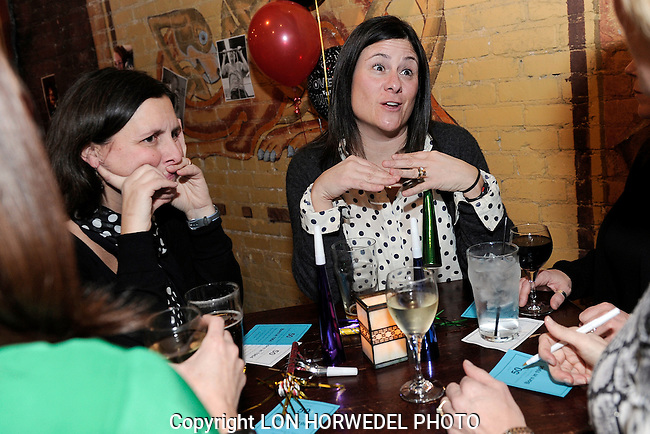 Ke Turner's surprise 50th Birthday Party at Connor O'Neill's in downtown Ann Arbor, 2-8-14.