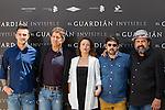Carlos Librado, Susi Sánchez, Pedro Casablanc, Paco Tous and Manolo Solo during the photocall of end of filming El Guardian Invisible.  May 31,2016. (ALTERPHOTOS/Rodrigo Jimenez)