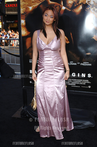 Actress PAM TAN at the Los Angeles premiere of Batman Begins..June 6, 2005 Los Angeles, CA..© 2005 Paul Smith / Featureflash