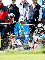 Belen Mozo. McKayson NZ Women's Golf Open, Round Two, Windross Farm Golf Course, Manukau, Auckland, New Zealand, Saturday 30 September 2017.  Photo: Simon Watts/www.bwmedia.co.nz