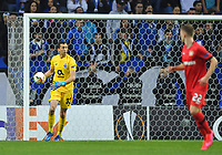 27th February 2020; Dragao Stadium, Porto, Portugal; UEFA Europa League  FC Porto versus Bayer Leverkusen; Agustín Marchesín of FC Porto collects the ball and looks to distribute