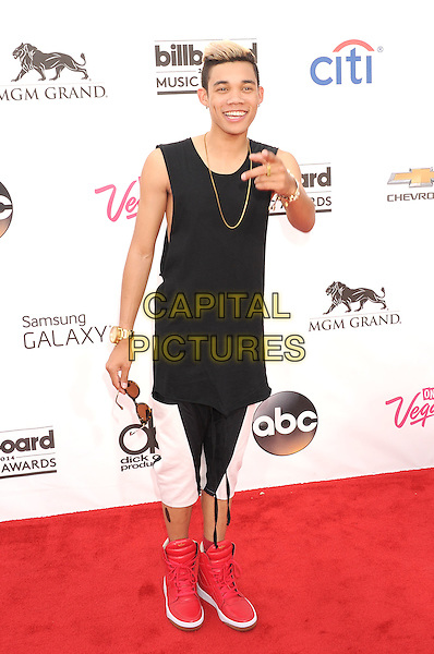 LAS VEGAS, CA- MAY 18: Actor/singer Roshon Fegan arrives at the 2014 Billboard Music Awards at the MGM Grand Garden Arena on May 18, 2014 in Las Vegas, Nevada.<br /> CAP/ROT/TM<br /> &copy;Tony Michaels/Roth Stock/Capital Pictures
