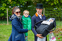 The Burton Family: 2019 GBR-Dodson and Horrell Chatsworth International Horse Trial. Saturday 11 May. Copyright Photo: Libby Law Photography
