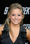 """HOLLYWOOD, CA. - April 30: Shawn Johnson arrives at the Los Angeles premiere of """"Star Trek"""" at the Grauman's Chinese Theater on April 30, 2009 in Hollywood, California."""