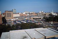 1994 March ..Redevelopment..Macarthur Center.Downtown North (R-8)..VIEWS BEFORE.FROM JAIL ROOF (109 FEET ABOVE GROUND)...NEG#.NRHA#..