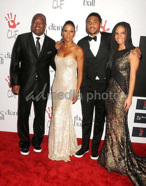 10 December 2015 - Santa Monica, California - Rodney Peete, Holly Robinson Peete. 2nd Annual Diamond Ball held at Barker Hangar. Photo Credit: Byron Purvis/AdMedia