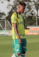 SÃO PAULO,SP,14.07.2016 - FUTEBOL-PALMEIRAS - Tchê Tchê durante treino na Academia de Futebol na Barra Funda,zona oeste de São Paulo, na tarde desta quinta-feira (14).(Foto : Marcio Ribeiro / Brazil Photo Press)