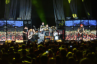 WEST PALM BEACH, FL - AUGUST 05: Singer Jeremy McKinnon, Musician Neil Westfall, Joshua Woodward, Alex Shelnutt and Kevin Skaff of A Day To Remember perform at Perfect Vodka Amphitheatre on August 5, 2016 in West Palm Beach, Florida. Credit: MPI10 / MediaPunch