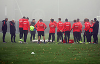 Eintracht trainiert mit reduziertem Kader in der Länderspielpause - 14.11.2018: Eintracht Frankfurt Training, Commerzbank Arena, DISCLAIMER: DFL regulations prohibit any use of photographs as image sequences and/or quasi-video.
