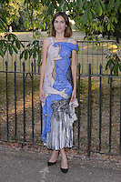 Alexa Chung at The Serpentine Gallery Summer Party 2015 at The Serpentine Gallery, London.<br /> July 2, 2015  London, UK<br /> Picture: Dave Norton / Featureflash