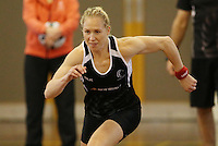 16.09.2016 Silver Ferns Laura Langman in action during traning ahead of the last Taini Jamison netball match between the Silver Ferns and Jamaica to be played in Rotorua. Mandatory Photo Credit ©Michael Bradley.
