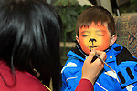 Daragh Peters at the Facepainting in The Library...(Photo credit should read Jenny Matthews www.newsfile.ie)....This Picture has been sent you under the conditions enclosed by:.Newsfile Ltd..The Studio,.Millmount Abbey,.Drogheda,.Co Meath..Ireland..Tel: +353(0)41-9871240.Fax: +353(0)41-9871260.GSM: +353(0)86-2500958.email: pictures@newsfile.ie.www.newsfile.ie.