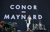 Connor Maynard performs during The New Look Wireless Music Festival at Finsbury Park, London, England on Saturday 04 July 2015. Photo by Andy Rowland.