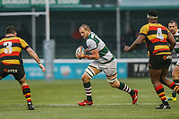 Harry CASSON of Ealing Trailfinders during the Championship Cup match between Ealing Trailfinders and Richmond at Castle Bar , West Ealing , England  on 15 December 2018. Photo by David Horn.