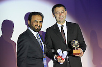 IFFHS gala, barcelona 7 mayo 2012