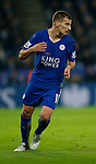 Marc Albrighton of Leicester City - English Premier League - Leicester City vs Chelsea - King Power Stadium - Leicester - England - 14th December 2015 - Picture Simon Bellis/Sportimage