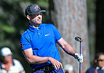 Singer Justin Timberlake watches a shot in the final round of the American Century Championship at Edgewood Tahoe Golf Course in Stateline, Nev., on Sunday, July 19, 2015. <br /> Photo by Cathleen Allison
