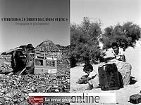 """""""Une nouvelle fois, Alexandre Mouthon met en synergie son approche de géographe et son talent de photographe. Il nous emmène cette fois en Mauritanie, sur les pistes du """"Sahara noir, blanc et gris"""". Découvrez le sens de cette expression et ses douze photographies."""",  Pierre Verluise, directeur de la revue Diploweb.<br /> <br /> http://www.diploweb.com/Mauritanie-Le-Sahara-noir-blanc-et.html"""