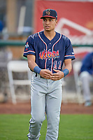 Michael Wilson (11) of the Rocky Mountain Vibes before the game against the Ogden Raptors at Lindquist Field on July 4, 2019 in Ogden, Utah. The Raptors defeated the Vibes 4-2. (Stephen Smith/Four Seam Images)