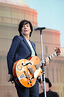 LONDON, ENGLAND - SEPTEMBER 9: Sharleen Spiteri of 'Texas' performing at BBC Proms in The Park, Hyde Park on September 9, 2017 in London, England.<br /> CAP/MAR<br /> &copy;MAR/Capital Pictures