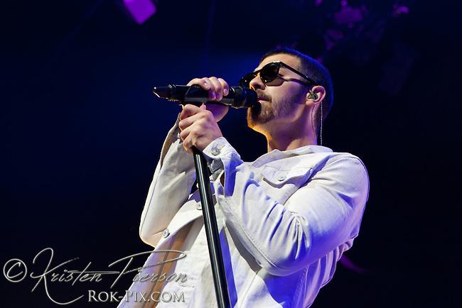 Jonas Brothers perform at Mohegan Sun July 23, 2013