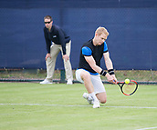 June 10th 2017,  Nottingham, England; ATP Aegon Nottingham Open Tennis Tournament day 1; Edward Corrie of Great Britain loses to Alex Bolt of Australia