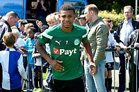 HAREN - Voetbal, Eerste Training FC Groningen  sportpark de Koepel, 01-07-2017,  FC Groningen speler Juninho Bacuna