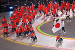 Japan Delegation (JPN), <br /> MARCH 9, 2018 - : <br /> PyeongChang 2018 Paralympics Winter Games Opening Ceremony <br /> at PyeongChang Olympic Stadium in Pyeongchang, South Korea. <br /> (Photo by Yusuke Nakanishi/AFLO SPORT)