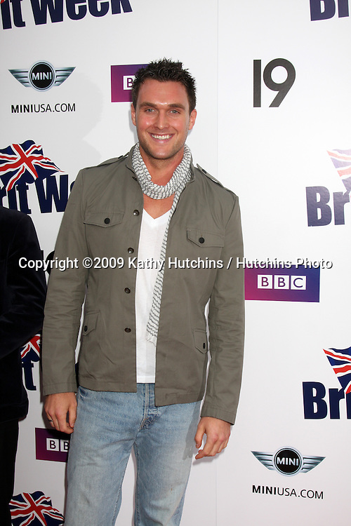Owain Yeoman arriving at the Brit Week 2009 Reception  on April 23 ,2009 at the British Counsel General's Official Residence in Los Angeles, California..©2009 Kathy Hutchins / Hutchins Photo....                .