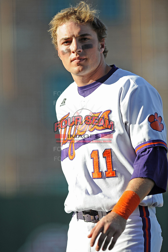Kyle Parker (Right Fielder) Clemson Tigers (Photo by Tony Farlow/Four Seam Images)