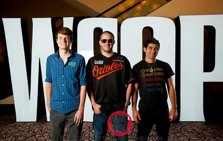The Final Three Players: Jake Balsiger, Greg Merson, Jesse Sylvia