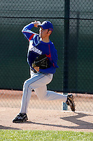 Michael Main  - Texas Rangers - 2009 spring training.Photo by:  Bill Mitchell/Four Seam Images
