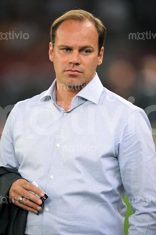 FUSSBALL   CHAMPIONS LEAGUE   SAISON 2011/2012  Qualifikation  23.08.2011 FC Zuerich - FC Bayern Muenchen Sportdirektor Christian Nerlinger (FC Bayern Muenchen)