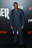 NEW YORK, NY - NOVEMBER 06:  Jason R. Moore at  'Marvel's The Punisher' New York premiere at AMC Loews 34th Street 14 theater on November 6, 2017 in New York City. Credit: Diego Corredor/MediaPunch /NortePhoto.com