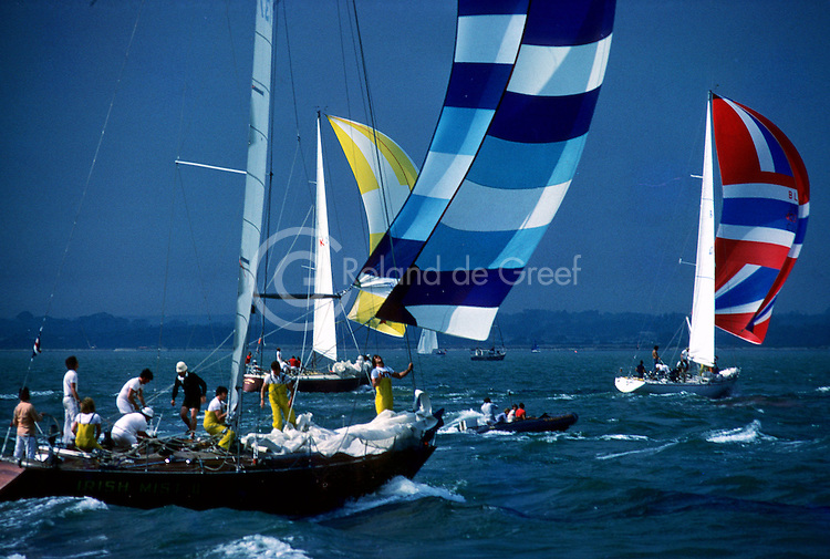 Semaine de Cowes 1977, Irish Mist II, Liz of Hanko, Tigre