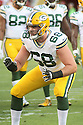 August 26 2016: Offensive Lineman Kyle Murphy of the Green Bay Packers during the Green Bay Packers during a 21-10 victory over the San Francisco 49ers at Levi's Stadium in Santa Clara, Ca.