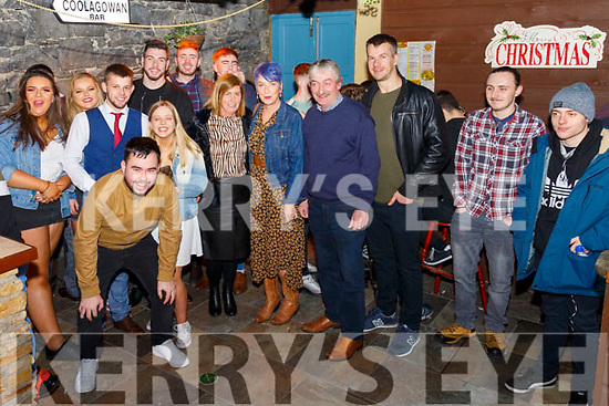 New Year Celebrations: Celebrating the new year at Brosnan's Bar, Listowel on New Year's Eve.