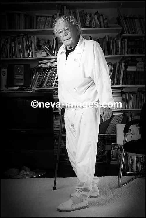Lucerne, le 17 janvier 2013, Hans Erni , 104 ans Artiste peintre. © sedrik nemeth